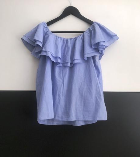 Modrá blúzka/top značky Reserved - Obrázok č. 4
