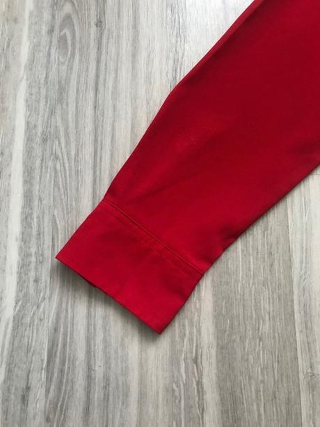 Nenosená dámska červená blúzka značky Mango - Obrázok č. 3
