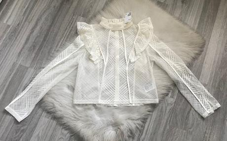 Dámska biela blúzka značky H&M ešte s visačkou - Obrázok č. 1