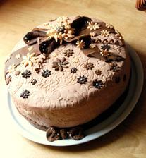 moja prvá a možno aj posledná :))) ale na to že neznášam torty chutila neskutočneeee