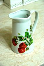 zapečené na keramiku, umývateľné v umývačke