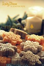 vianočné mydielka s vôňou Vianoc