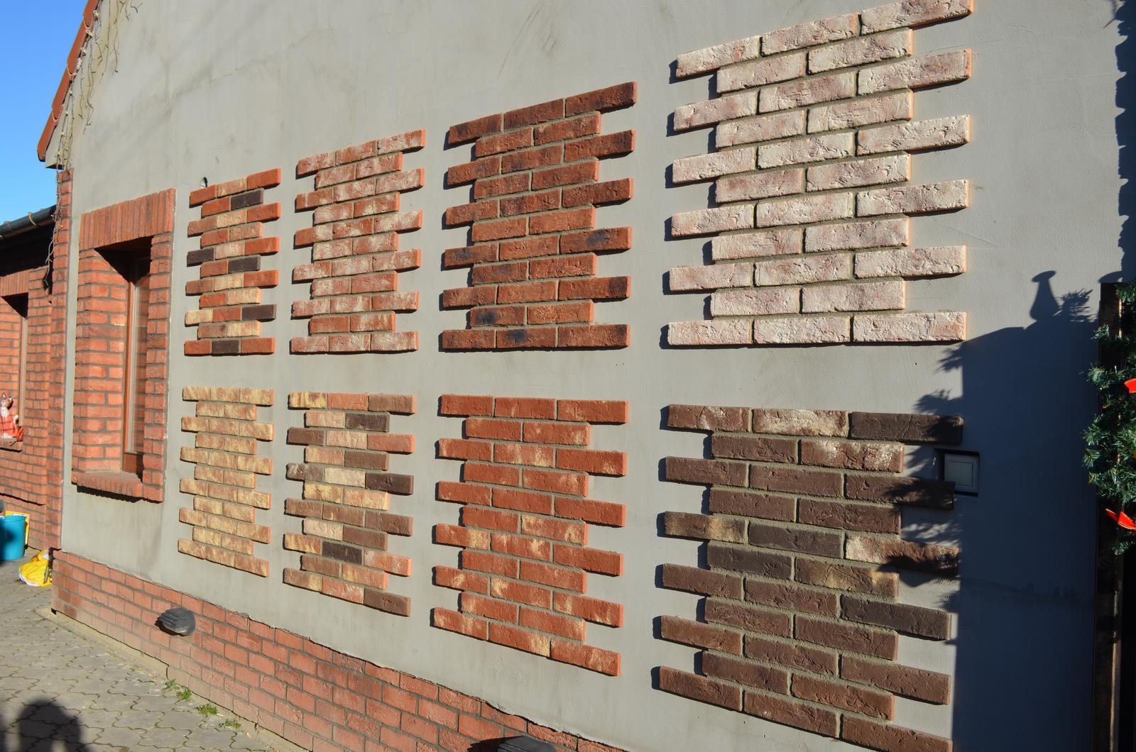 Fasády a tehlové obklady - vzorky sú nahliadnutiu v Opoji, začiatkom apríla sprístupníme celú predajnu ako i ďalšie obklady