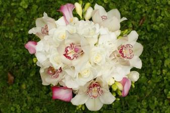 svadobná kytica - bola jednoducho nádhernáááá