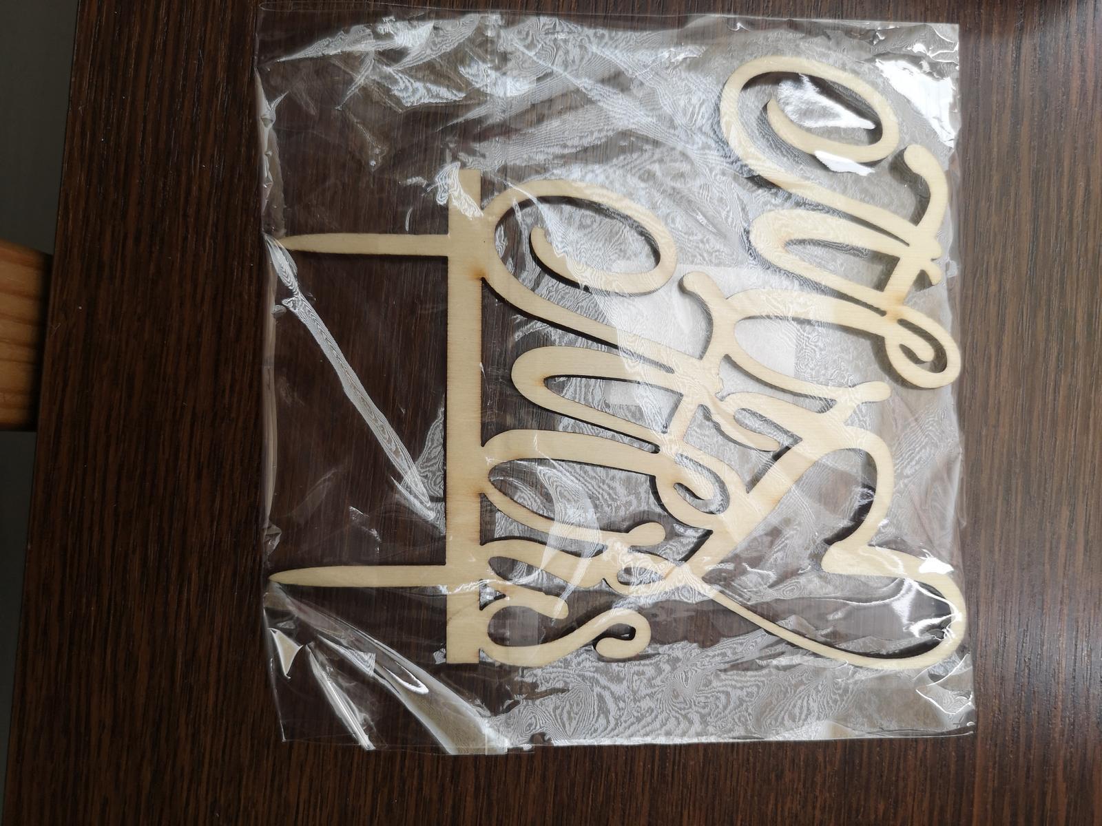Zápich na svatební dort - Obrázek č. 1