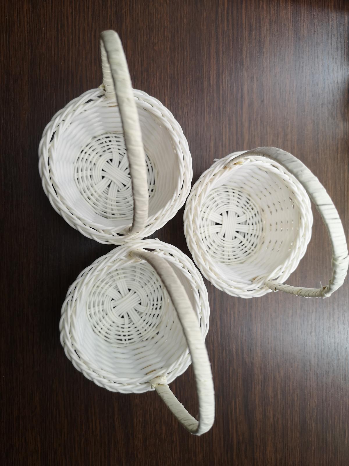 Svatební mini košíčky - Obrázek č. 1