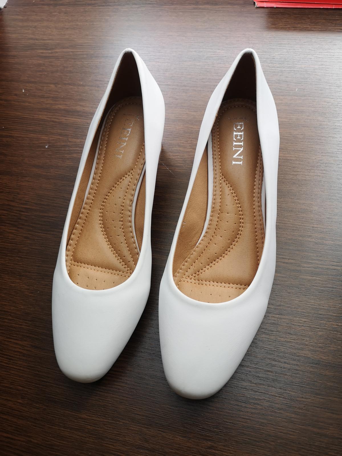 Svatební boty NOVÉ - Obrázek č. 1