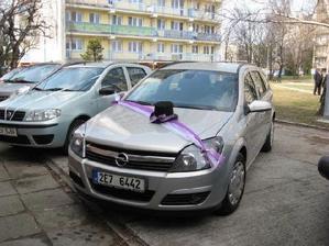 ženichovo auto :)