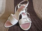 Atypické svadobné sandálky, 39