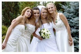 Relita - mela jsem kolem sebe tri nadherne kamaradky, kterym moc dekuji za vsechno co pro nas udelaly!