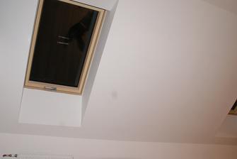 detail okna v podkroví