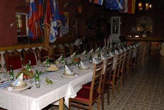 Svatební oběd, La Veneria