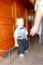 nejmladší svatebčan...synovec Lalu