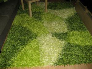 travička zelená...náš úžasný kobereček