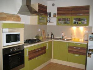 a nakonec - moje kuchyňka:)