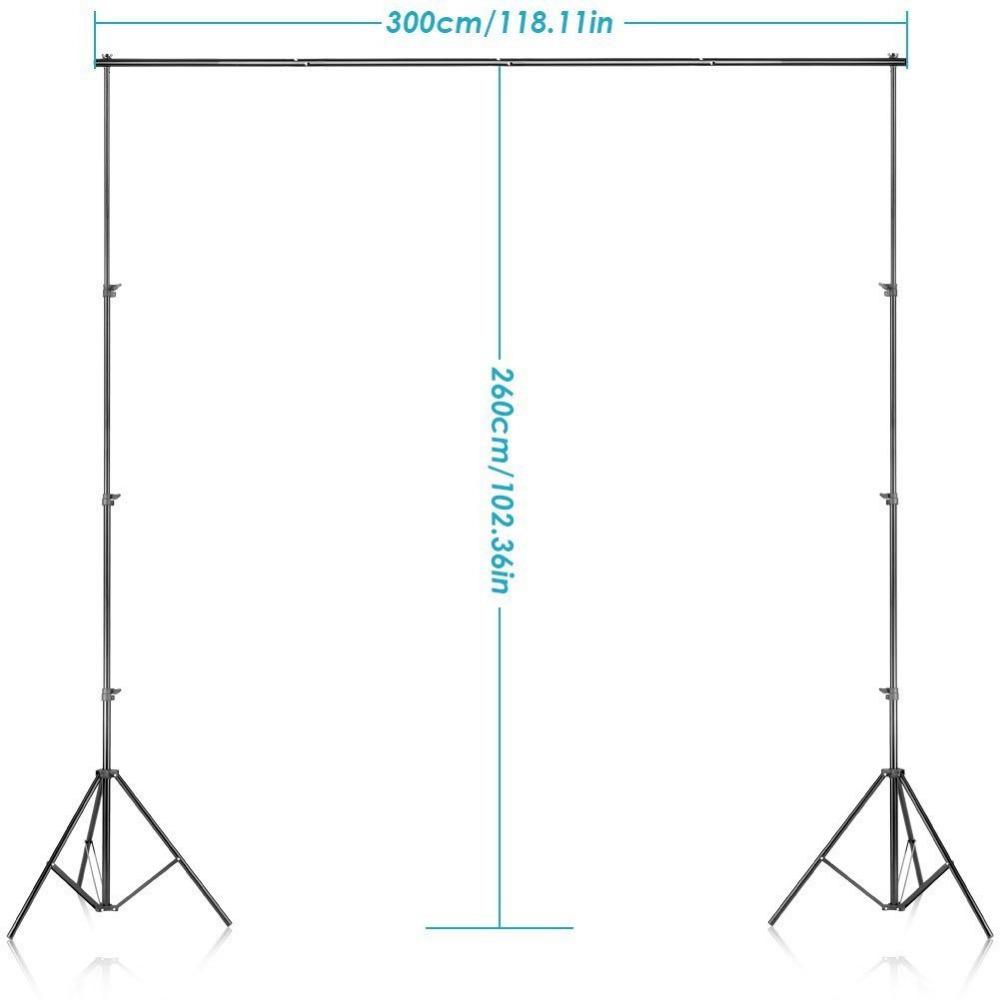 Stojan na fotostenu 2,6mx3m - Obrázok č. 2