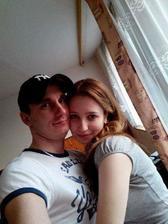 Toto je naše úplně první společná fotka, z našeho prvního rande :-) Hned jsme se zamilovali.