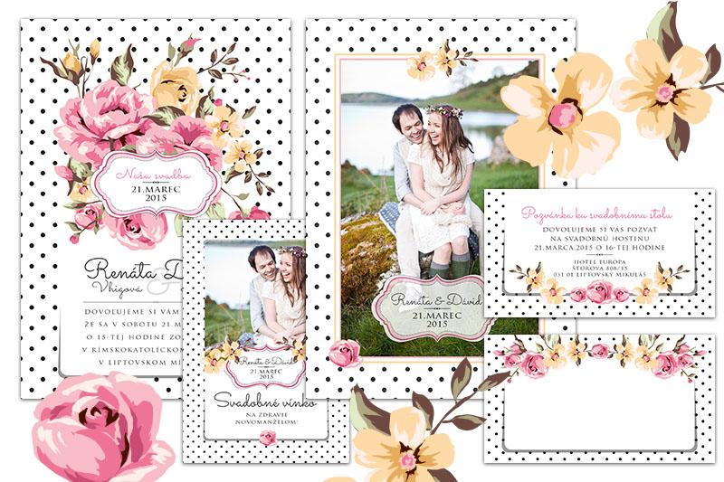 Svadobné oznámenia s fotkou u nás - Obrázok č. 1