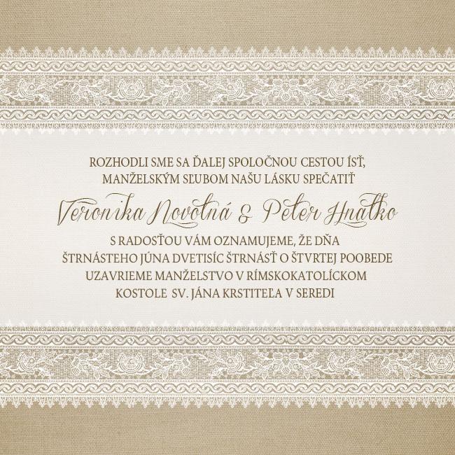 Originálne svadobné oznámenia - u nás :) - Obrázok č. 2