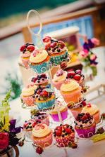 Ovocne cupcakes ... krásne