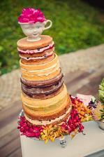 Zaujímavá moderná tortička