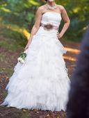 Extravagantní svatební šaty CHESUS PEIRO, 34