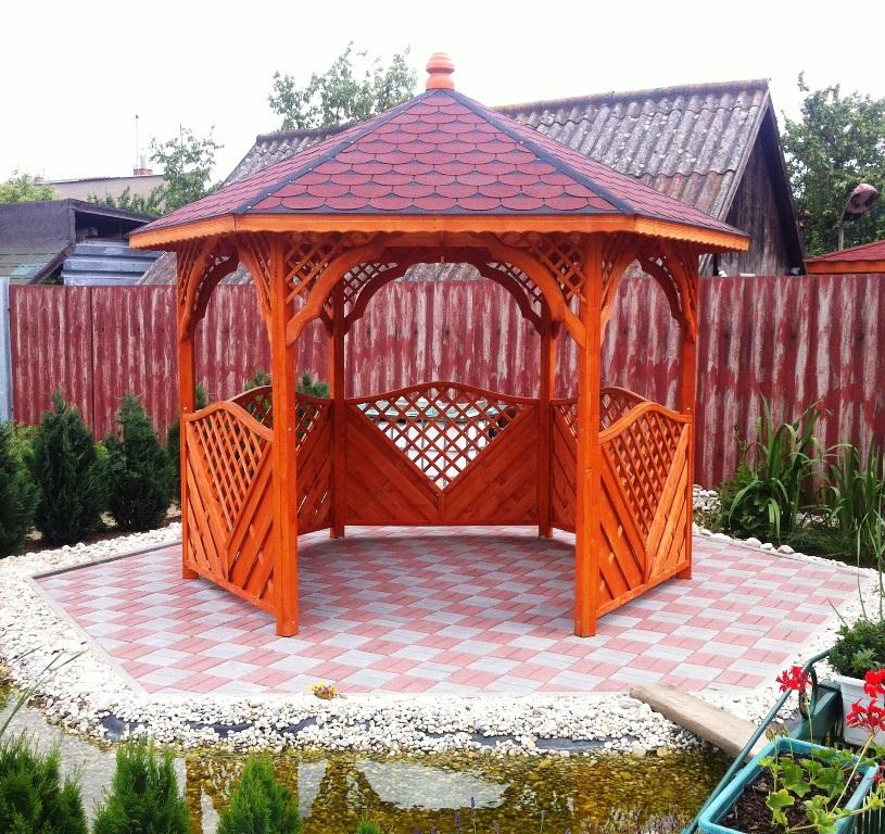 Záhradný altánok ktorý zaručene skrášli každú záhradku - Pri objednávke altánku bez nábytku ušetríte až 100€!