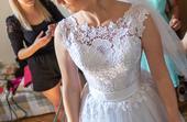 Korzetové svatební šaty velikosti 38-40, 39