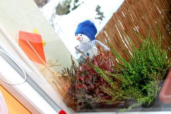zimné balkónové okno