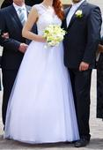 Svatební šaty bílé, 38