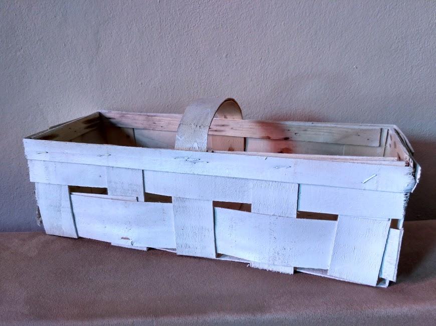 Bílý košík  - Obrázek č. 1