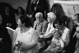 Obřadové momentky v kapli :-)