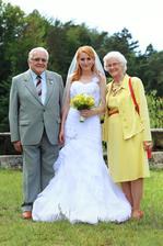 S babičkou a dědou :-)