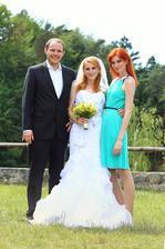 Se svědkyní a jejím manželem :-)