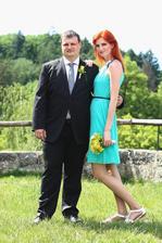 Manžel a má svědkyně :-)