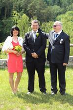 Manžel s rodiči :-)