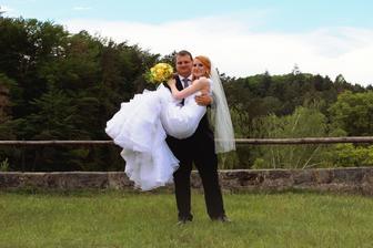"""""""vážení nevěsty"""" z dálky :-D"""