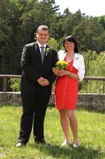 ...s maminkou ženicha :-)