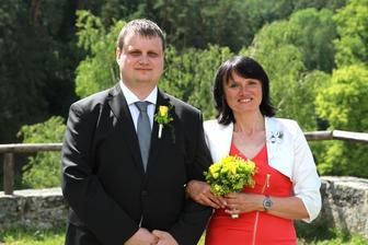 S maminkou ženicha z blízka :-)