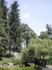 ...a tady bude svatba...Dendrologická zahrada u Průhonického zámečku