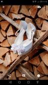 Bledomodre svadobne topanky, 39