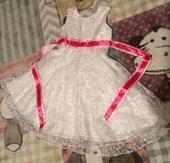 Šaty pro malou družičku vel.120, 122