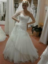 svatební šaty - nádhera (zarezervovány)