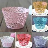Obaly na Cupcake ( bílé, růžové, šedé),