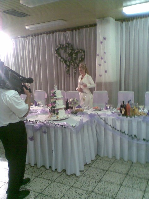 Detaily našej svadby - vyzdoba hlavneho stola