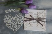 Svadobné oznámenie,