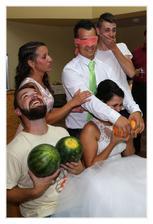 A ženich nevěstu podle grepů ...Trochu netradiční soutěže