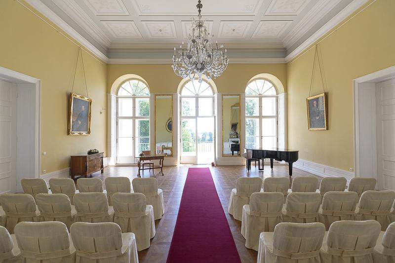 Hanka{{_AND_}}Martin - krásný sál na zámku v Kostelci nad Orlicí