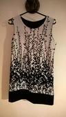 Bielo-čierne šaty, 38
