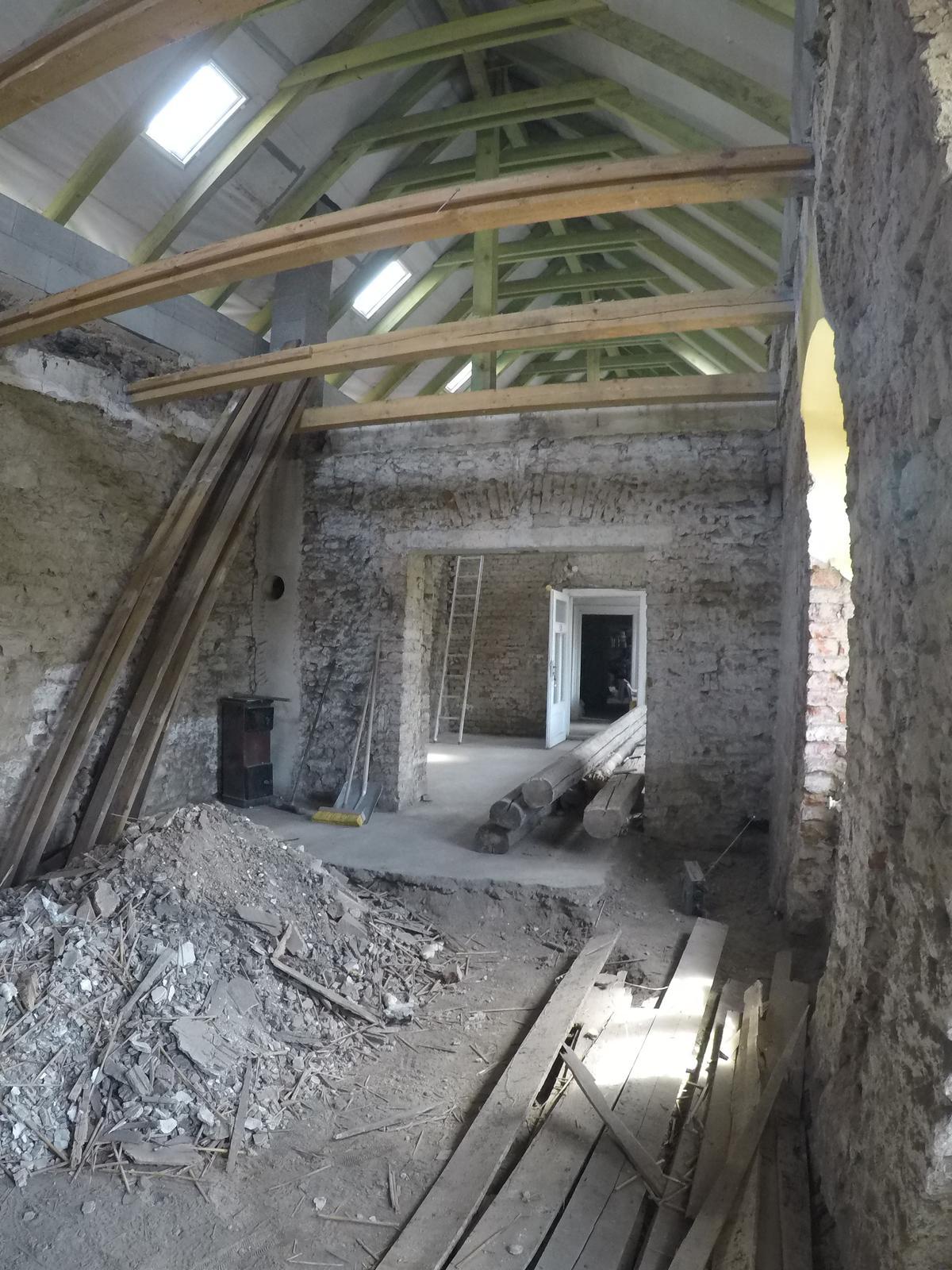 Rekonstrukcia  domu z 18- teho storocia - Obrázok č. 153
